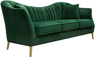 ava velvet sofa