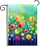 ShineSnow Watercolor Abstract Spring Summer Seasonal Green Floral...