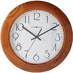 Howard Miller Santa Fe Wall Clock 625-355 – Modern & Round with Quartz Movement