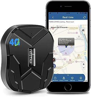 4G GPS Tracker for Vehicles Hidden Magnetic Vehicles GPS Tracker Locator Real Time GPS Tracker for Car Motorcycles Trucks ...