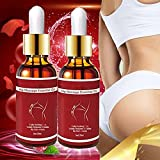 Buttock Enlargement Hips Oil Butt Lifting Essential Oil, Hiplift Buttocks Essential Oil, Sexy Hip Buttock Enlargement Essential Oil, Stretch Mark and Scar Removal Cream (2 PIEZAS)