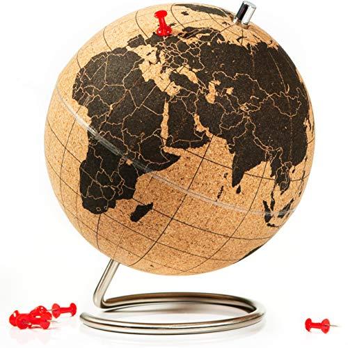 SUCK UK Mini globe en liège