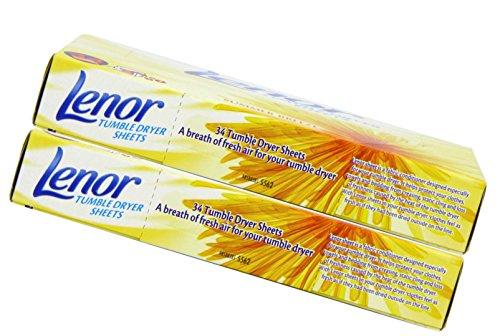Lenor Tumble Dryer Summer Breeze Sheets Box 34 by Lenor