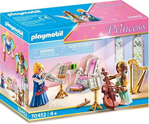 PLAYMOBIL Princess 70452 - Stanza reale della musica, Dai 4 anni