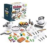 Cocinas de Juguete de 52 Piezas, Juguete de Cocina Set, Jueg