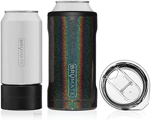 Br Mate HOPSULATOR TR O 3 in 1 Stainless Steel Insulated Can Cooler Works With 12 Oz 16 Oz Cans product image
