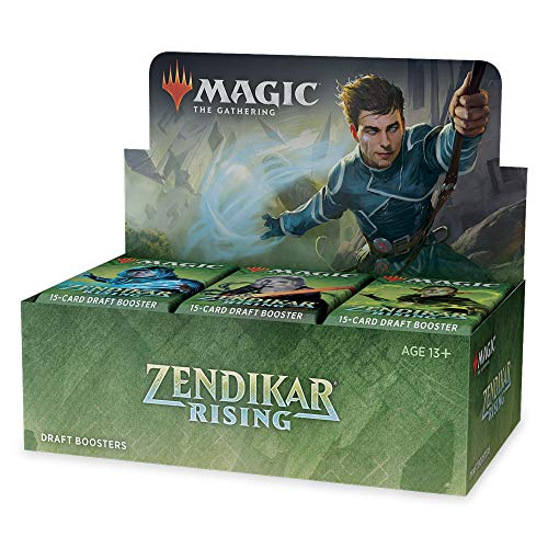 Magic: The Gathering Zendikar Rising Draft Booster Box | 36 Booster Packs | Fabrikversiegelt