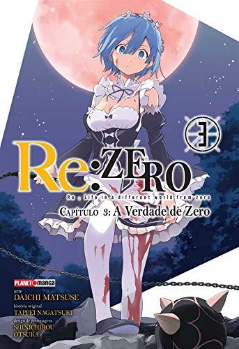 Re.Zero Capítulo 3. A Verdade de Zero Volume 3