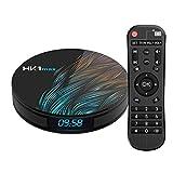 Android Box 9.0, HK1 MAX 4GB/32GB RK3318 Quad-Core 64bit 2.4Ghz/5.0 Ghz WiFi BT 4.0 HDMI 4K VP9 3D Smart TV Box