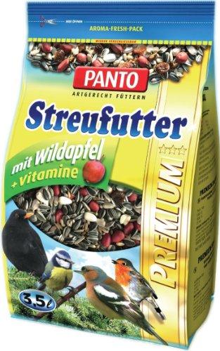 Panto Premium Streufutter, 4er Pack (4 x 1.7 kg)