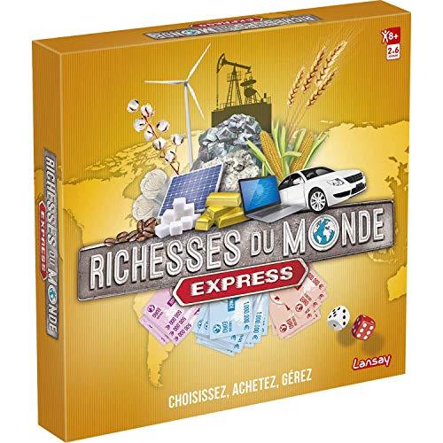 Richesses du Monde - Edition Express - Jeu de société - Lansay