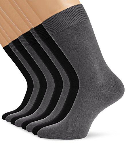 S.Oliver Socks S20030 Chaussettes, Gris (10), 36 W/34 L Homme