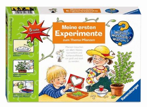 Ravensburger 18745 - Wieso? Weshalb? Warum? Meine ersten Experimente: Pflanzen