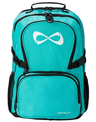 Teal Classic Backpack - White Logo