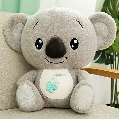 N / A Preciosos Juguetes de Peluche de Koala, muñeco de Animales de Dibujos Animados de Peluche, Juguete de Moda para niños, bebé, Encantador Regalo de cumpleaños Feliz Navidad 30cm