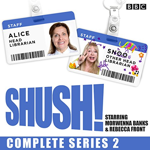 Shush! Series 2 audiobook cover art