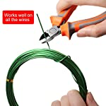 5 Roll Tree Training Wires 160 Feet Total with Bonsai Wire Cutter Anodized Aluminum Wire 1/1.5/2.0 mm Training Wire for… 12 Package includes: 1 piece of wire cutter and 5 rolls of bonsai wires in different colors and sizes, includes 3 rolls of black aluminum wires, 1 roll of green wires, 1 roll of brown wires, different color looks appropriate for display, each roll has 32 feet, 160 ft in total Reliable material: these bonsai wires are made of quality aluminum material, which is not easy to get rust or corrode, flexible material but study enough, can be applied to shape and train many bonsai plant type, would not damage plant; The wire cutter is made of steel and plastic, work well at cutting most wires Easy to use: you can use these bonsai wire to create your desired bonsai shape through bending and repositioning the branches, convenient to use with these reliable material, which can be helpful, especially for a novice, reusable material save your time and money