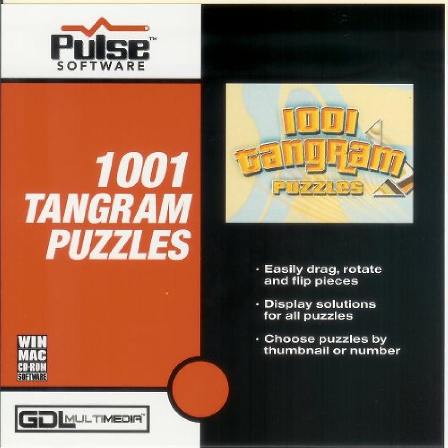 スタック両方プロット1,001 Tangram Puzzles (輸入版)