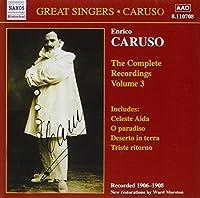 Enrico Caruso: The Complete Recordings, Vol. 3 (2006-08-01)