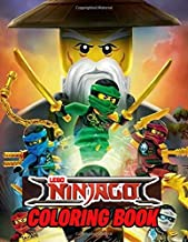 LEGO NINJAGO COLORING BOOK: Perfect Lego Ninjago Movie Coloring Book, 50 Awesome Illustrations for Kids Fans of LEGO NINJAGO Masters of Spinjitzu (8.5x11 Inches)