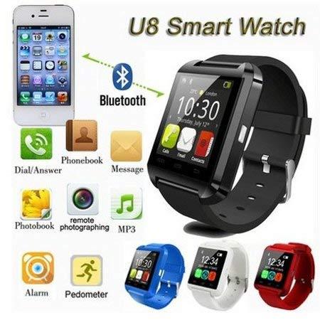 U8 Plus U8+ Pro Bluetooth Smart Wrist Watch Phone for iPhone6 iOS Android