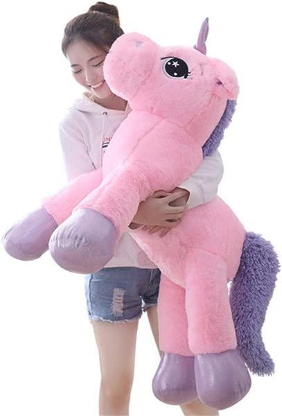 Sofipal Giant Unicorn Stuffed Animal Toys Large Pink Unicorns Plush Pillow Cushion For Birthday Valentines Bedroom 43