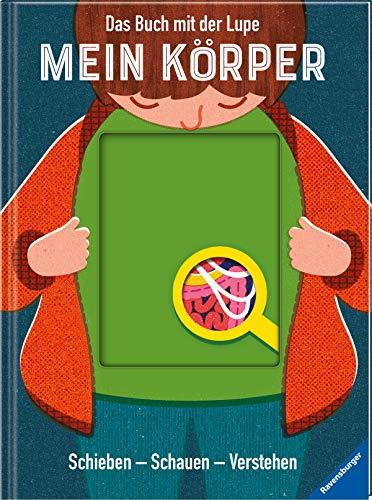 Buchseite und Rezensionen zu 'Das Buch mit der Lupe: Mein Körper: Schieben - Schauen - Verstehen' von Nancy Dickmann