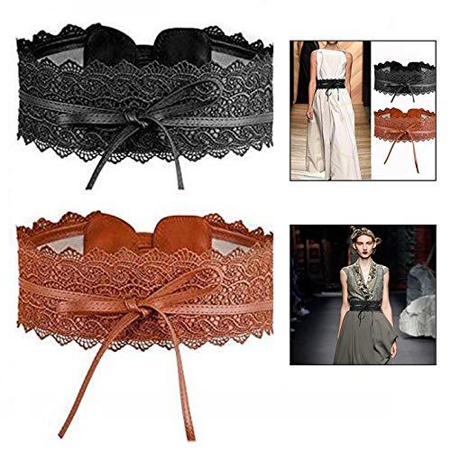 Cinturones de cuero flamencos 💘
