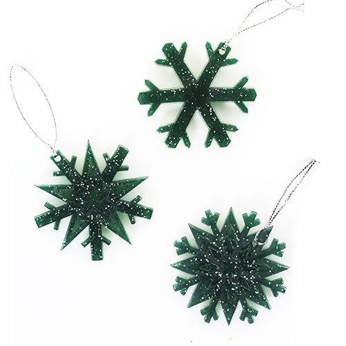 Yankee Candle Balsam & Cedar Scented Snowflake Ornament, Festive Scent