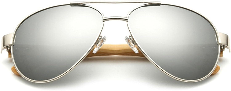Gymforward Vintage Cycling Sunglasses Men Women Wood Frame Eyewear with Wood Case