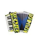 yaunli Acordeón de los niños de acordeón de Botones Kid Juguetes Musicales del acordeón Efecto for niños de más de 5 años Kid Instrumento Principiante Fácil de Llevar acordeón Infantil
