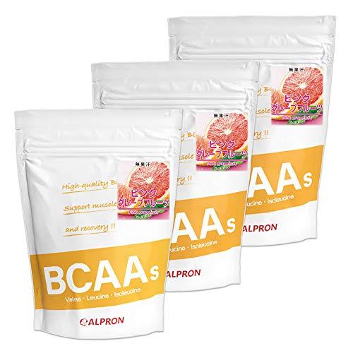 アルプロン BCAA 1kg ピンクグレープフルーツ風味(アミノ酸 ALPRON 粉末ドリンク 国内生産) (3)