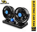 Woschmann - Mitchell 12V DC Electric Car Fan for Dashboad 360 Degree Rotatable
