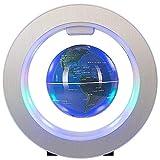 Globos para decoración de escritorio globo flotante con luces LED levitación flotante globo mapa del mundo perfecto para decoración de escritorio y mejor para niños