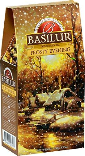BASILUR Festival Frosty Evening Schwarzer Tee 100g