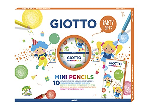 Giotto PARTY GIFTS MINI PENCILS - 10x6
