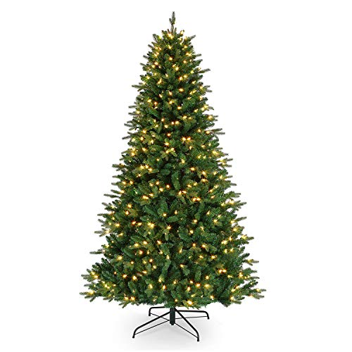 Mr. Christmas Alexa Compatible RGB Vermont Spruce LED Christmas Tree, Seven Foot Artificial Tree, 7' – A Certified for Humans Device