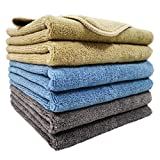Polyte Microfiber Cleaning Towel (16x24, 6 Pack,...