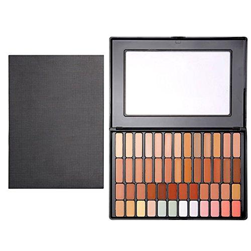 Palette de Concealer KAYI Pro 50 Couleurs Makeup Palette Contouring - Suit pour toutes les couleurs de peau