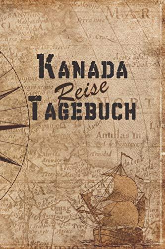 Kanada Reise Tagebuch: 6x9 Reise Journal I Notizbuch mit Checklisten zum Ausfüllen I Perfektes Geschenk für den Trip nach Kanada für jeden Reisenden