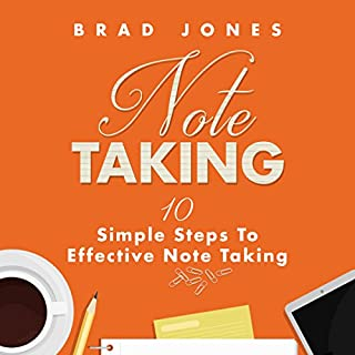 Note Taking audiobook cover art