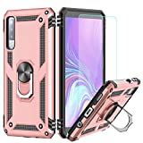 LeYi Galaxy A7 2018 Case with Ring Holder,Full Body