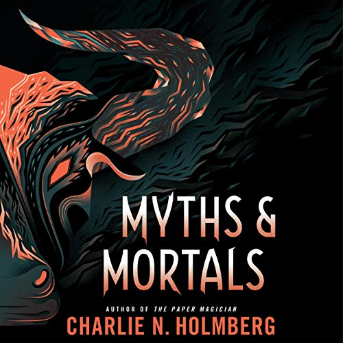 Myths and Mortals audiobook cover art