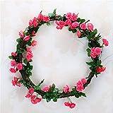 GIAO Selbst Gemachte Dekoration Der Künstlichen Blume Simulation Rose Vine Hochzeit Zuhause...