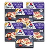 Strawberry Cheesecake Dessert Bar on the Atkins Diet. Favorite Rich and Creamy Desserts Ketogenic-friendly. (30 reps)