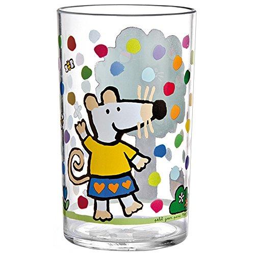 Verre acrylique Mimi la souris - Petit Jour