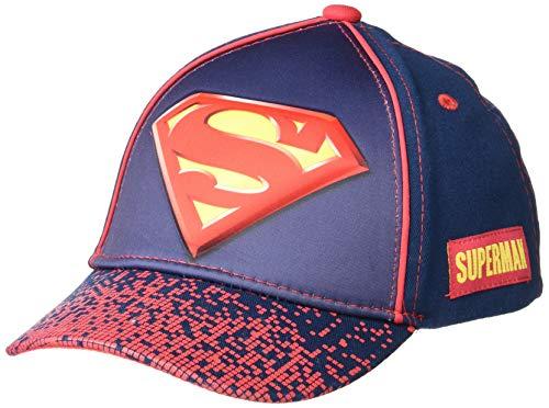 Product Image 1: DC Comics Boys Baseball Cap with 3D POP: Batman, Superman and Justice League (Ages 2-7)