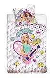 Carbotex Bettwäsche Barbie Bettbezug 100  Baumwol
