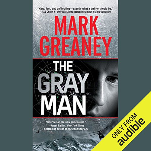 The Gray Man audiobook cover art