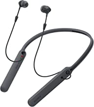 Sony WI-C400 Wireless Bluetooth in-Ear Neck Band Headphones with 20 Hours Battery Life, Light Weight, Headset with mic for...